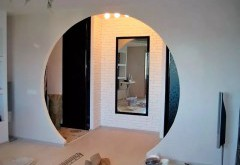 Виды дверных проемов из гипсокартона