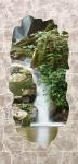 АКВАТОН листовая панель МДФ Грот Крым - цвет Бежевый Водопад 1220х2440х6 мм (3м2)