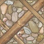 Береза-керамика Керамогранит Аризона коричневый глазурованный 41.8х41.8 см