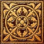 Керамика Будущего Вставка Марсель шоколад матовый 6х6 см