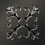 Керамика Будущего Вставка Тулуза черный матовый 6х6 см