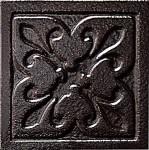 Керамика Будущего Вставка Орлеан черный матовый 6х6 см