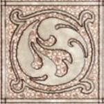 Керамин Декор Раполано оливковый 9.8х9.8 см