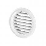Решетка дверная, d=59/47 мм, МВ50/2бВ, (2 шт), пластик, белая