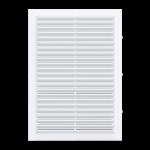 Решетка вентиляционная 170x240 мм с сеткой, белая