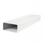 Канал (воздуховод) плоский 5015 110x55 мм (1,5 м), пластик