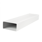 Канал (воздуховод) плоский 7005 120x60 мм (0,5 м), пластик