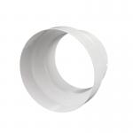 Переходник PM 125x150 мм металлический белый