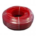 Труба гофрированная 25 мм для металлопластиковых труб красная (1 п.м.)