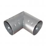 Отвод для дренажных гофрированных труб 110 мм (90 градусов)