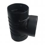 Тройник для дренажных гофрированных труб 160 мм (90 градусов)