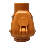 Клапан обратный канализационный Sinikon d=50 мм