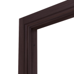 Коробка дверная ОЛОВИ Венге экошпон М8 с упл. с фурн. 32x80 мм