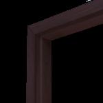 Коробка дверная ОЛОВИ 3D Венге комплект М10 970x74x30 мм