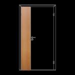 Полотно дверное глухое отв. ч. ОЛОВИ Миланский орех 300x2000 мм с/ф