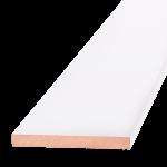 Добор ОЛОВИ Белый ламинированный 150x10x2100 мм