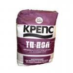 КРЕПС ТП-пол толстослойный самовыравнивающийся, 20 кг.
