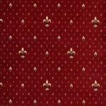 Balta Ковролин (в нарезку) Веллингтон 4957 Fleur de Lys бордовый 0010 (4м)