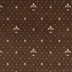 Balta Ковролин (в нарезку) Веллингтон 4957 Fleur de Lys коричневый 0080 (4м)