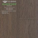Паркетная доска Global Parquet Hardy (HDF) Дуб Cacao (Какао)
