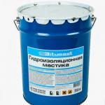 БИТУМАСТ Мастика гидроизоляционная (21,5л) металлическое ведро
