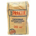 БЕРГАУФ Практик штукатурка гипсовая легкая (30кг)