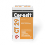 ЦЕРЕЗИТ CT29 Штукатурка и ремонтная шпаклевка для минеральных оснований (25кг)
