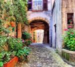 Фотообои Улочка Тосканы А2-050 Divino
