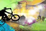 Фотообои Велоспорт 13-0325-SG Decocode