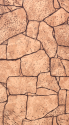 "АКВАТОН листовая панель МДФ ""Камень Алатау"" цвет коричневый 1220х2440х6 мм (3м2)"
