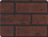 АКВАТОН листовая панель МДФ Кирпич цвет Натуральный 1220х2440х6 мм (3м2)
