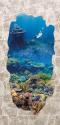 "АКВАТОН листовая панель МДФ ""Грот"" Крым - цвет Бежевый Кораллы 1220х2440х6 мм (3м2)"