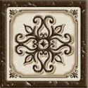 Керамика Будущего Вставка Севилья матовый  6х6 см