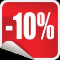"""10% от покупки возвращается бонусами (1 бонус = 1 рубль. Бонусы можно обменять на товары из категории """"Напольные покрытия"""", либо на кэшбэк наличными в магазине или при доставке)"""