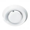Анемостат А125ВРФ, d=125 мм белый