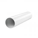 Канал (воздуховод) круглый 2005 d=125 мм (0,5 м), пластик