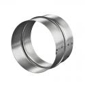 Патрубок (соединитель) ПМ125Ц d=125 мм металл, оцинк.