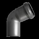 Отвод внутренний Sinikon d=50 мм 67°