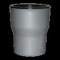 Муфта внутренняя Sinikon однораструбная переходная чугун/пластик d=110 мм