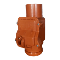 Клапан обратный канализационный наружный d=110 мм