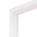 Коробка дверная ОЛОВИ комплект Белая ламинированная М8 770x74x30 мм