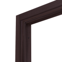 Коробка дверная ОЛОВИ Венге экошпон М9 с упл. с фурн. 32x80 мм
