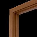 Коробка дверная ОЛОВИ 3D Орех комплект М10 970x74x30 мм