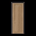 ОЛОВИ Дверное полотно Колорадо 600х2000 Дуб Шале экошпон глухое без притвора б/фурнитуры