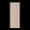 ОЛОВИ Дверное полотно Колорадо 700х2000 Беленый дуб экошпон глухое без притвора б/фурнитуры