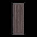 ОЛОВИ Дверное полотно Колорадо 700х2000 Дуб графит экошпон глухое без притвора б/фурнитуры