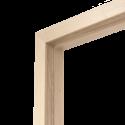 Коробка дверная ОЛОВИ 3D Белёный Дуб комплект М9 870x74x30 мм