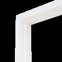 Коробка дверная ОЛОВИ комплект Белая ламинированная М12,4 1210x74x30 мм