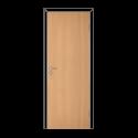 Полотно дверное глухое ОЛОВИ 3D Бук с притвором М10x21