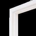 Коробка дверная ГОСТ ОЛОВИБелая ламинированная 600 мм с фурнитурой